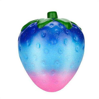 AU10.59 • Buy Jumbo Galaxy Strawberry Scented Squishy Charm Slow Rising Stress Reliever Toys