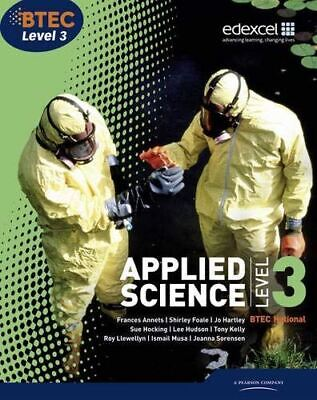 £23.69 • Buy BTEC Level 3 National Applied Science Student Book [Paperback] Frances Annets