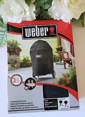 $ CDN50.63 • Buy Weber 7150 Premium Grill Cover For Kettle & Master-Touch Charcoal Grill 22