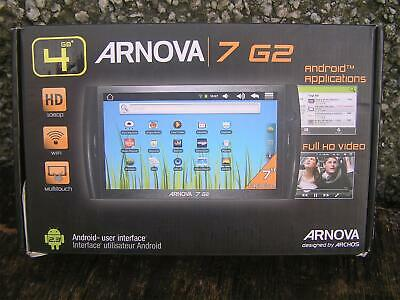 £15 • Buy Archos Arnova 7 G2 7 Inch 4gb Tablet Bundle For Spares / Repair / Parts Only