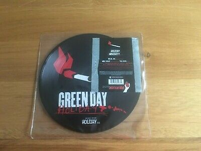 £15 • Buy Green Day-Holiday.7  Picture Disc
