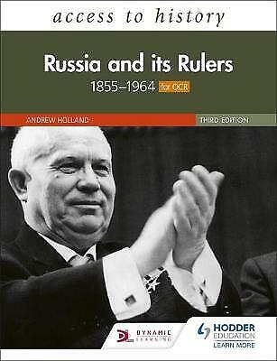 Access To History: Russia And Its Rulers 1855-1964, Fellows, Nicholas,  Paperbac • 23.34£