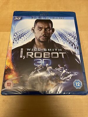 I Robot - 3D BLU RAY New And Sealed • 8.95£
