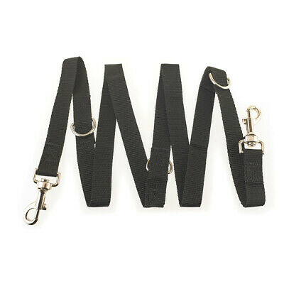 AU13.64 • Buy Police Style Control Dog Lead 6Way Adjustable Training Lead Double Ended V2Z