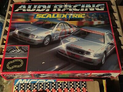 £50 • Buy Vintage Hornby Scalextric Audi  Racing Box Set Two Touring Cars  Audi A4 VG