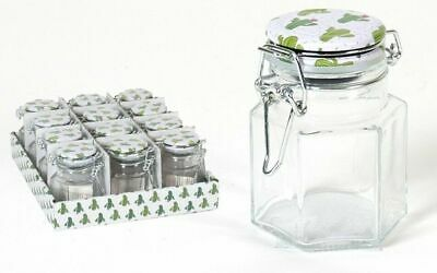 Set Of 12 Glass Small Clip Top Jars Air Tight 150ml Reuseable Swing Top Lid • 19.99£
