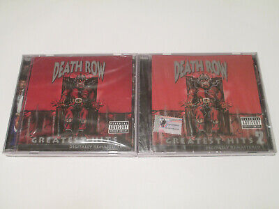 Death Row Greatest Hits (2 CDs) Russia SEALED // Snoop Doggy Dogg Dr. Dre 2Pac • 197.77£