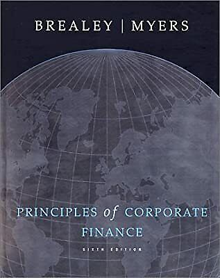 £7.69 • Buy Principles Of Corporate Finance (Irwin/McGraw-Hill Series In Finance, Insurance,