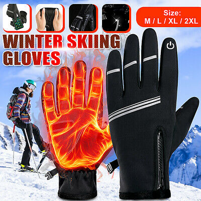 £7.45 • Buy  -30℃ Winter Warmer Gloves Snow Ski Touch Screen Thermal Snowboard Mens Womens