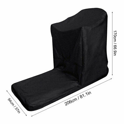 AU55.53 • Buy L‑Shaped Gym Treadmill Cover Waterproof Dustproof Protective Covers 206*94*170cm