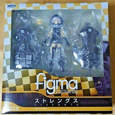 £61.32 • Buy Figma Strength Black Rock Shooter Figure Max Factory Action Animation From Japan