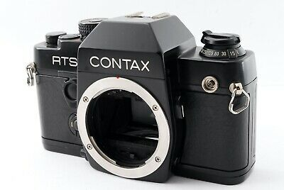 $ CDN246.19 • Buy Excellent+++++ Contax RTS II Black Body SLR Film Camera From Japan