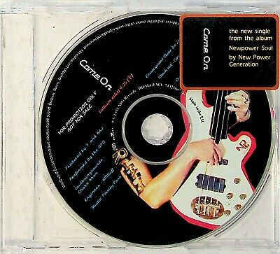 The New Power Generation NPG – Come On PROMO CD (1998) Written By PRINCE Funk • 7.99£