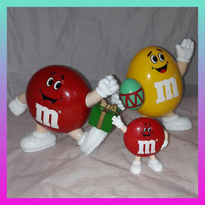 M&M Chocolate Sweet Dispenser Holder Vintage 1991 Birthday Present Xmas Easter • 14.60£