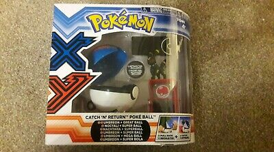Rare Umbreon & Great Ball Figure Set With ID Card New In Box Collectable • 49.99£