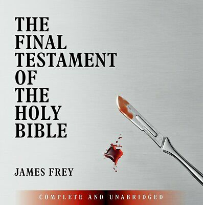 £3.99 • Buy The Final Testament Of The Holy Bible James Frey CD Audio Ex~display New/sealed