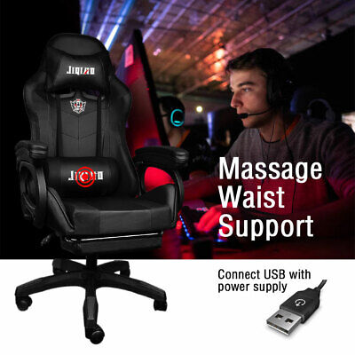 AU109.49 • Buy Computer Chairs Seating Racing Recliner Gaming Chair Office Executive Chairs AU