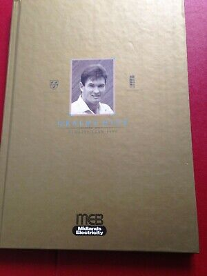 £7.97 • Buy Graeme Hick England Test Worcestershire Cricketer Benefit Year Book 1999 Signed