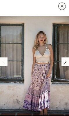 AU349 • Buy Spell And The Gypsy Collective PORTOBELLO ROAD Maxi Skirt Size M