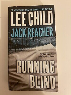 Lee Child Running Blind | Adult Reading Book • 2£