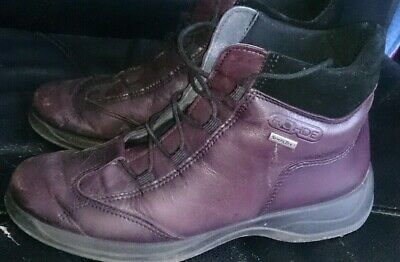 £18 • Buy Ladies Leather Hiking Style Fashion Ankle Boots - Size 5.5 - Rohde