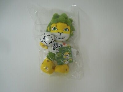 £7.99 • Buy Official South Africa World Cup 2010 Mascot 'Zakumi' Soft Plush Toy New Unopened