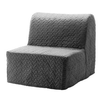 Ikea Cover Set For Lycksele Chair Bed In Vallarum Grey  603.234.22 • 55£