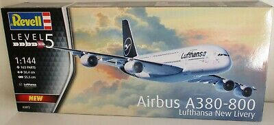 Revell 03872 - Airbus A380-800 Lufthansa New Livery      1:144 Scale Plastic Kit • 30£