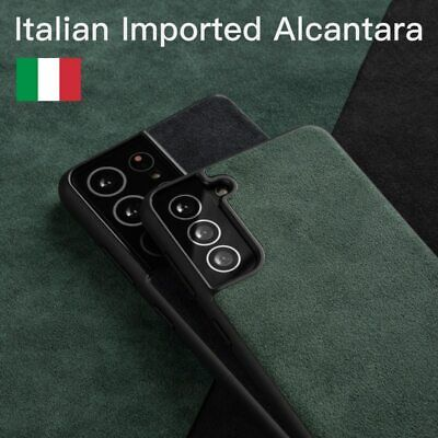 AU35.69 • Buy Phone Case Alcantara Luxury Business Artificial Leather Cover For Samsung Models