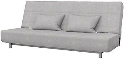 Ikea Cover Set For Beddinge 3-Seater Sofa Bed In Grey-Beige  800.362.79 • 135£