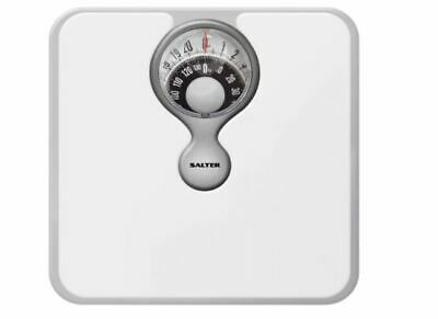 New Mechanical Bathroom Scales Easy Reading Weighing Precision No Battery White • 18.18£