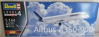 Revell 03881 - Airbus A350-900 Lufthansa New Livery      1:144 Scale Plastic Kit • 25£