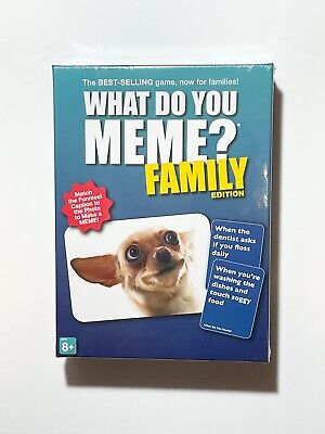 AU33.96 • Buy WHAT DO YOU MEME? Family Edition Game 2020.