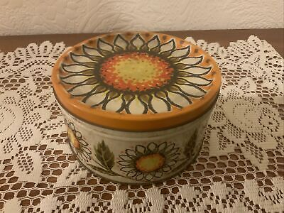 £12.50 • Buy  Vintage Mackintosh's 1lb Toffee Tin With Sunflowers 1960s/1970s
