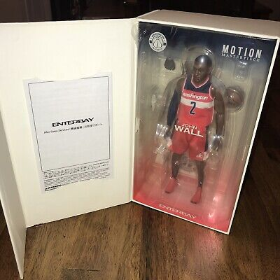 $76.99 • Buy NBA Enterbay Motion Masterpiece Figure John Wall Series 1 Unused 1/9 Wizards