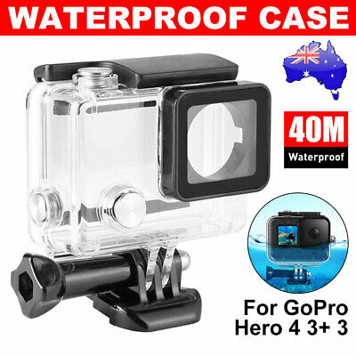 AU16.45 • Buy Waterproof Diving Protective Housing Clear Case For GoPro Hero 3 3+ 4 Camera