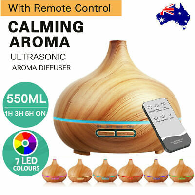 AU20.80 • Buy LED Aroma Aromatherapy Diffuser Essential Oil Ultrasonic Air Humidifier Purifier