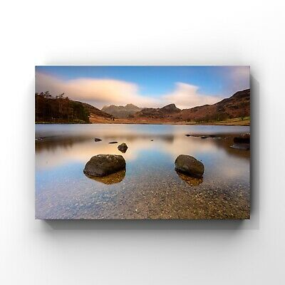 Wall Art Picture Prints Seascape Blea Tarn Lake District Sunrise 16.5 X 12.5  • 19.95£