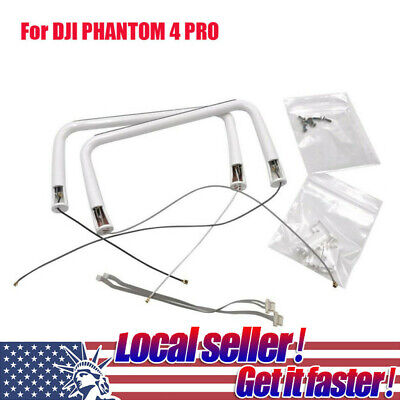 AU59.23 • Buy 2PC For DJI Phantom 4 Pro Drone RC Landing Gear With Antenna&Compass Parts P2m8