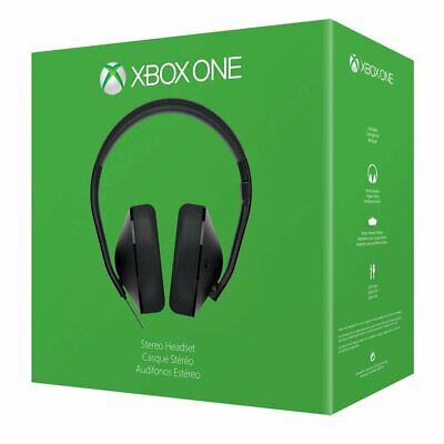 AU56.36 • Buy Official Microsoft Xbox One Stereo Headset