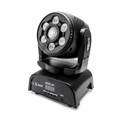 100W Gobo Patterns LED Moving Head Stage Lighting DMX512 Party Concert DJ KTV • 104.99£