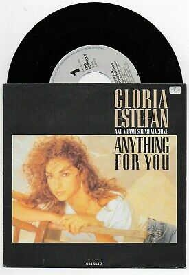 £5.99 • Buy Gloria Estefan Anything For You English+spanish Versions 45 From Netherlands