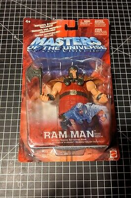 $20 • Buy Masters Of The Universe  Ram Man  Gold Variant 2002 Mattel Action Figure
