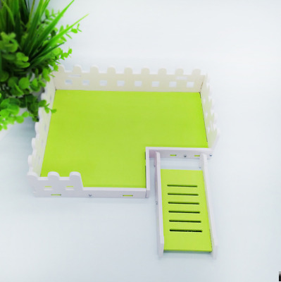 £8.98 • Buy Quality Pet Hamster Toys Platform Crawling Ladder Wooden Cage Fence Accessories