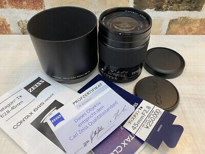 $ CDN841.88 • Buy [Mint] Contax Carl Zeiss T* Distagon 45mm F/2.8 For 645 Mount From JAPAN #487