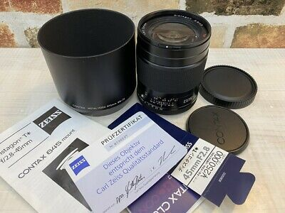 $ CDN904.96 • Buy [Mint] Contax Carl Zeiss T Distagon 45mm F/2.8 For 645 Mount From JAPAN #487