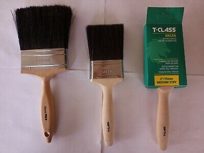£15.99 • Buy 1 Pro 4  And 2  T-class Delta 3  Paint  Brushes
