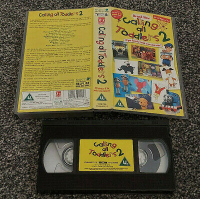 £18.50 • Buy Calling All Toddlers 2 Brum Spot Thomas The Tank Pal Vhs Video Kids Children