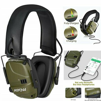 £33.56 • Buy MPOW Active Earmuffs Hearing Protector Electronic Shooting Hunting Ear Defenders
