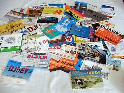 $ CDN63.42 • Buy QSL Cards Lot Of 300+ GERMANY Assorted